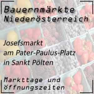 Josefsmarkt Sankt Pölten Pater-Paulus-Platz