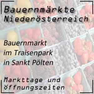 Bauernmarkt Sankt Pölten Traisenpark