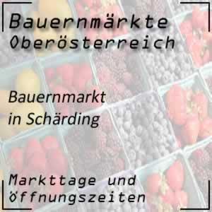 Bauernmarkt Schärding mit den Öffnungszeiten