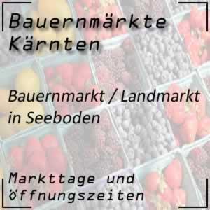 Bauernmarkt / Landmarkt in Seeboden