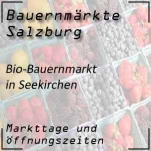 Bio-Bauernmarkt Seekirchen mit den Markttagen