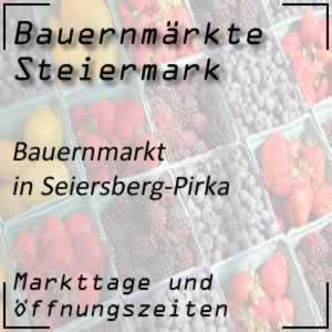 Bauernmarkt Seiersberg-Pirka mit den Öffnungszeiten