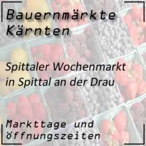 Spittaler Wochenmarkt in Spittal an der Drau
