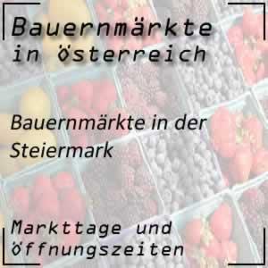 Bauernmarkt Steiermark