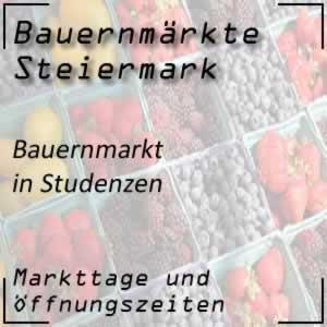 Bauernmarkt Studenzen / Kirchberg/Raab