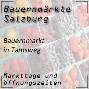 Bauernmarkt Tamsweg mit den Öffnungszeiten