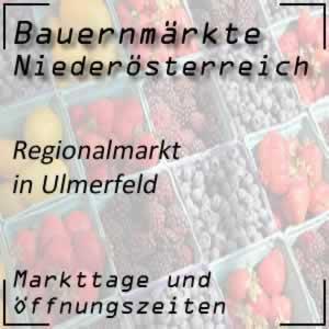 Bauernmarkt Ulmerfeld mit den Öffnungszeiten