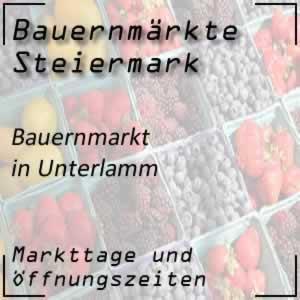 Bauernmarkt Unterlamm