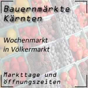 Bauernmarkt Völkermarkt mit den Öffnungszeiten