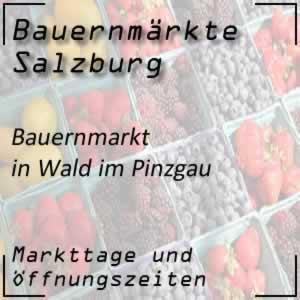 Bauernmarkt Wald im Pinzgau mit den Öffnungszeiten