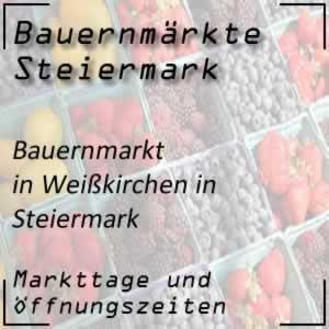 Bauernmarkt Weißkirchen in Steiermark