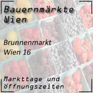 Wiener Brunnenmarkt mit den Öffnungszeiten