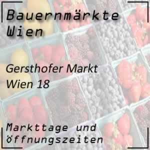 Bauernmarkt Gersthofer Markt mit den Öffnungszeiten