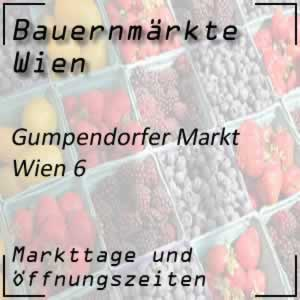 Bauernmarkt Gumpendorfer Markt mit den Markttagen