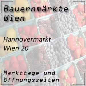 Bauernmarkt Hannovermarkt mit den Öffnungszeiten