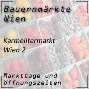 Karmelitermarkt mit den Öffnungszeiten