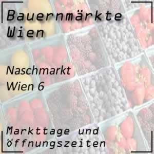 Bauernmarkt Naschmarkt mit den Öffnungszeiten