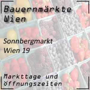 Bauernmarkt Sonnbergmarkt mit den Öffnungszeiten