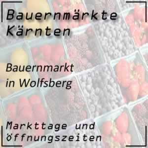 Bauernmarkt Wolfsberg mit den Öffnungszeiten