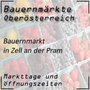Bauernmarkt Zell an der Pram mit den Öffnungszeiten