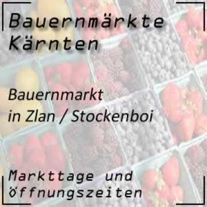 Bauernmarkt in Zlan / Stockenboi