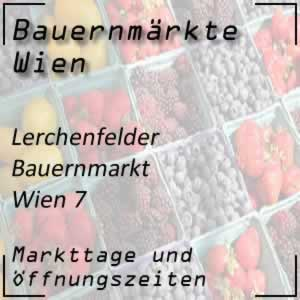 Lerchenfelder Bauernmarkt Wien mit Markttage