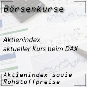 Börsenkurs DAX