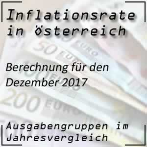 Inflationsrate Dezember 2017