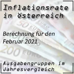 Inflationsrate Februar 2021