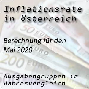 Inflationsrate Mai 2020