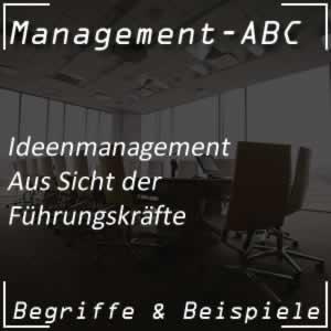 Ideenmanagement für Führungskräfte