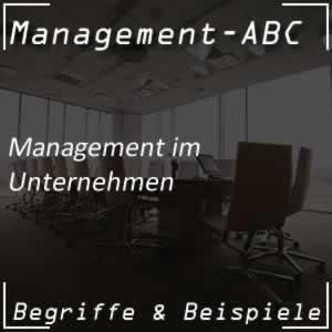 Management und Managementbegriffe