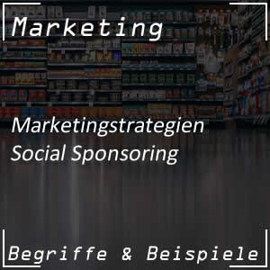Social Sponsoring von Unternehmen