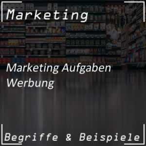 Werbung im Marketingsystem
