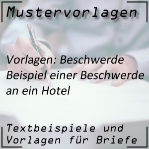 Beschwerde: Hotel