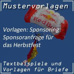 Sponsoring: Herbstfest