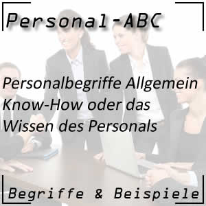 Know-How des Personals