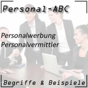 Personalvermittler für die Personalsuche
