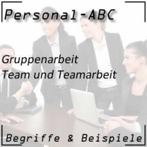 Team beim Personal