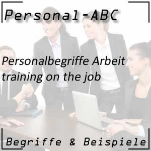 Training on the job