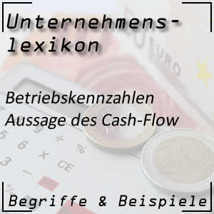 Cash-Flow und seine Aussage