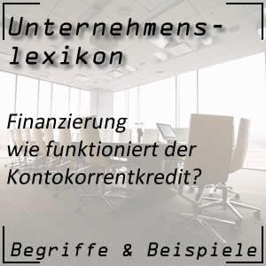 Kontokorrentkredit im Unternehmen