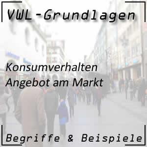 VWL Angebot und Nachfrage