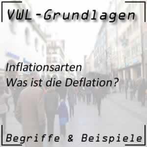 Deflation in der Volkswirtschaft