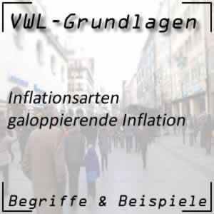 Galoppierende Inflation bei schwacher Wirtschaft