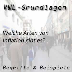 VWL Inflation / Inflationsarten