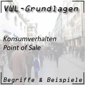 Point of Sale am Markt