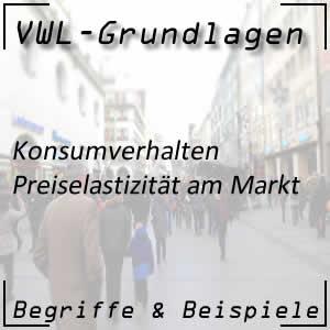 Preiselastizität am Markt