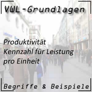 Produktivität in der Wirtschaft