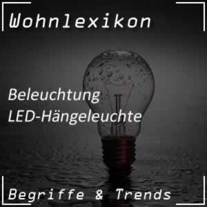 LED-Hängeleuchte